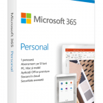 Licenta Cloud Retail Microsoft 365 Personal English Subscriptie 1 an Medialess P6