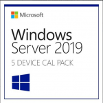 Licenta Microsoft Windows 2019 Server, Engleza, 5 CAL Devic